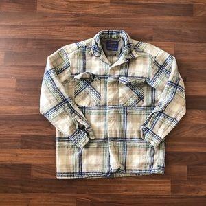 Pendleton 100% wool button up
